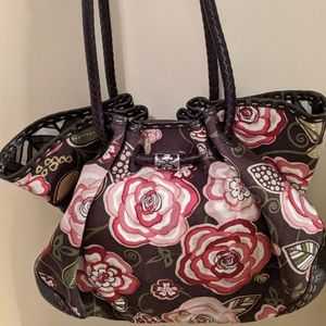 Brighton Rose Print Purse